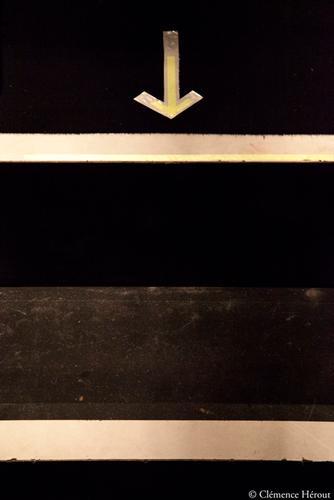 Athénée signalisation coulisses flèches Clémence Hérout