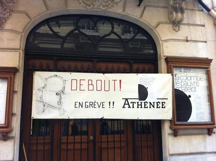 Athénée grève intermittents spectacles