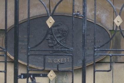Beckett Saint Patrick Dublin