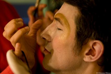 Athénée maquillage Autre monde (c) Clémence Hérout