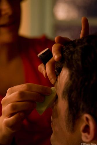 Maquillage Autre monde (c) Clémence Hérout