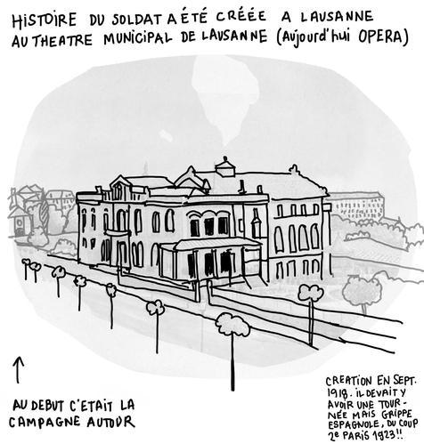 theatre de lausanne by tone