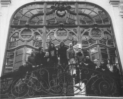 Equipe Athénée 1997 Fabien Calcavechia