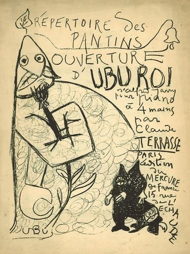 Lithographie Ubu Roi