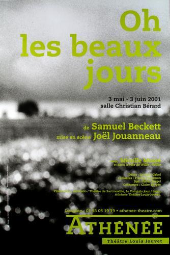 Athénée affiche Beckett