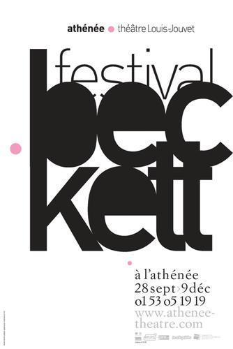 Athénée affiches Beckett