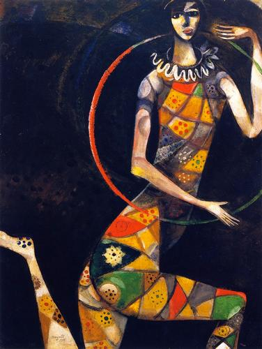 Acrobate Chagall