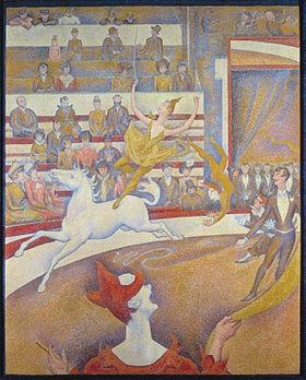 Ecuyere Georges Seurat