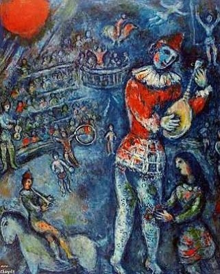 Jongleur de Paris Marc Chagall
