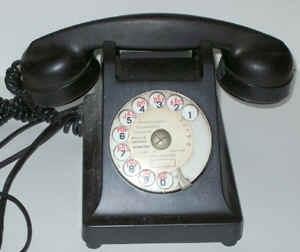 Téléphone 1958