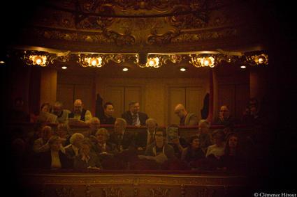 Public Athénée par oeilleton - photo Clémence Hérout