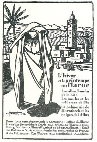Publicité MAroc 1933