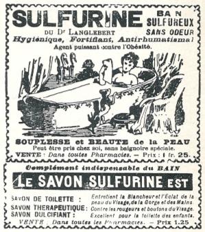 Publicité Savon